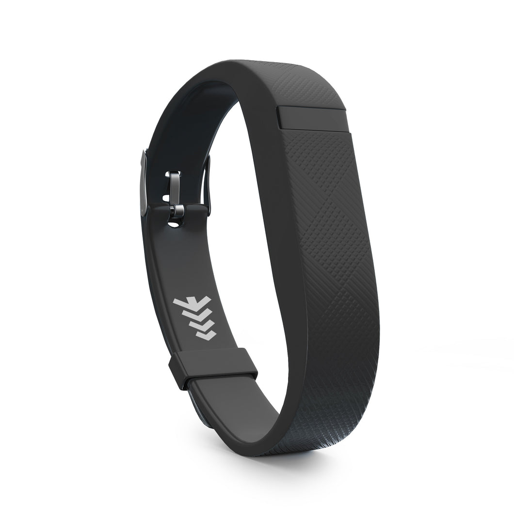 Fitbit Flex Bands w/Buckle - Black, Universal Size.