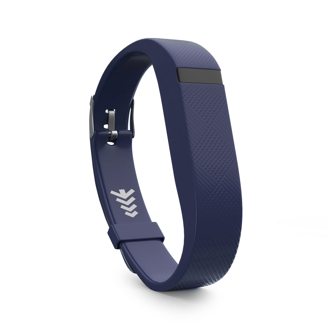 Fitbit Flex Bands w/Buckle - Navy Blue, Universal Size.