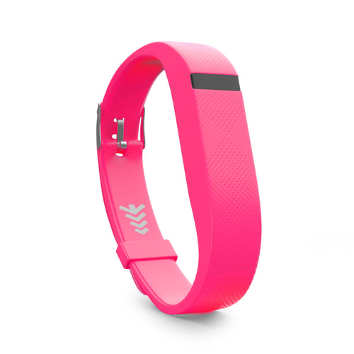 Fitbit Flex Bands w/Buckle - Pink, Universal Size.