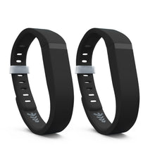 Fitbit Flex Bands - Black 2 Pack, Small and Large Sizes.