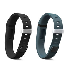 Fitbit Flex Bands - Black & Slate 2 Pack, Small and Large Sizes.