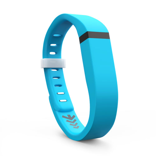 Fitbit Flex Bands - Light Blue, Small and Large Sizes.