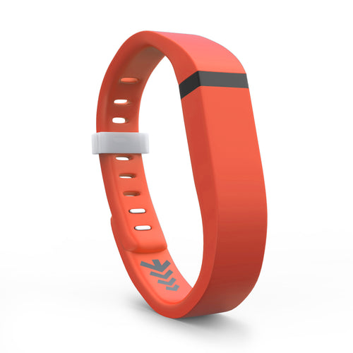 Fitbit Flex Bands - Tangerine, Small and Large Sizes.