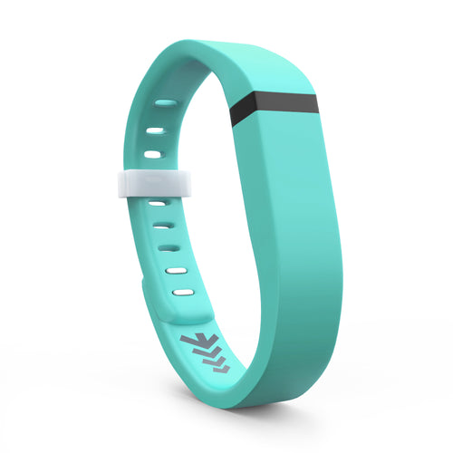 Fitbit Flex Bands - Teal, Small and Large Sizes.