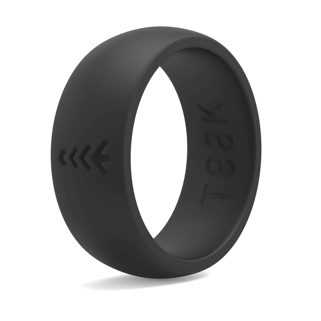 o bodycandy products rubber black pack rings ring gauge