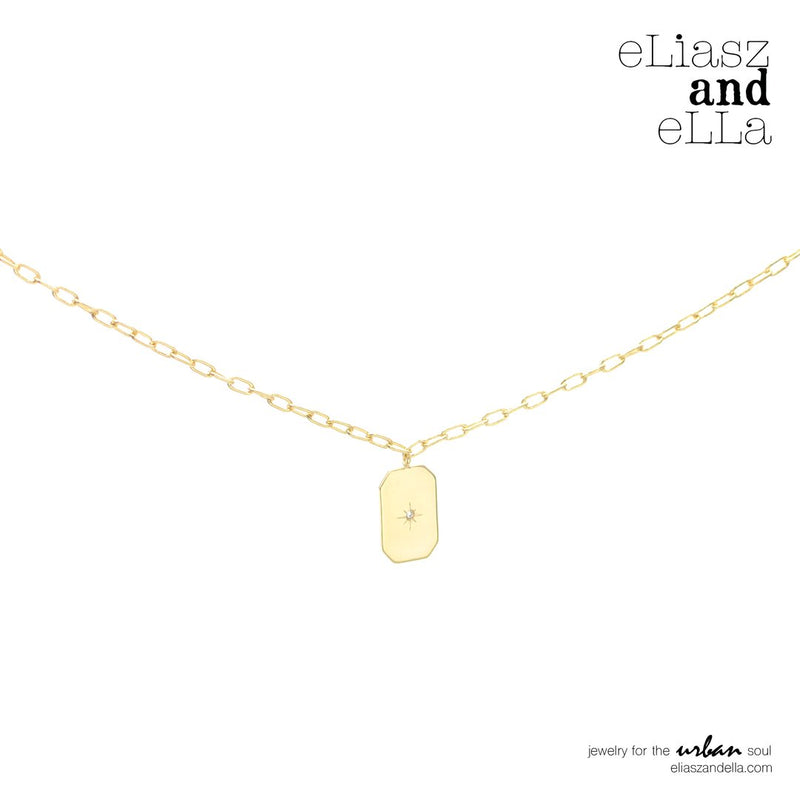 """Romantique"" Gold Necklace"