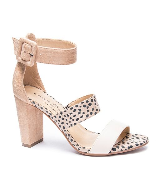 The Z-Sunday Cheetah Heel