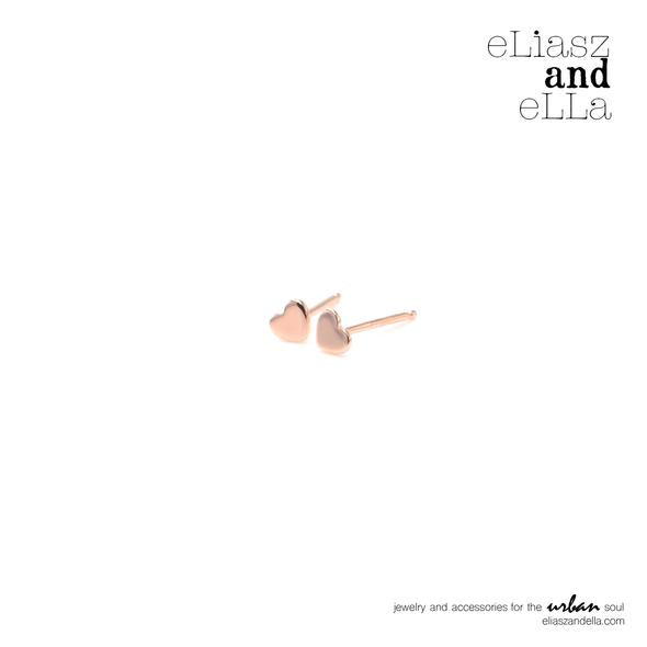 Eliasz & Ella Little Heart Earrings