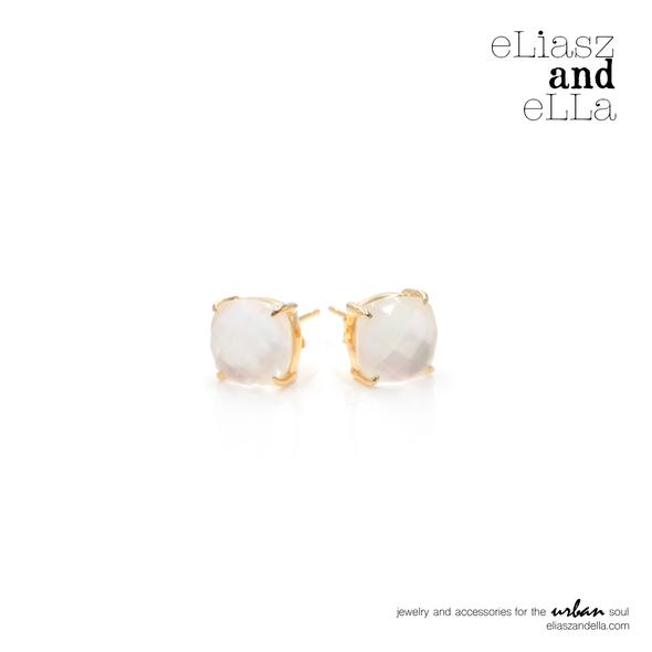 Eliasz & Ella Reine Crystal Earrings