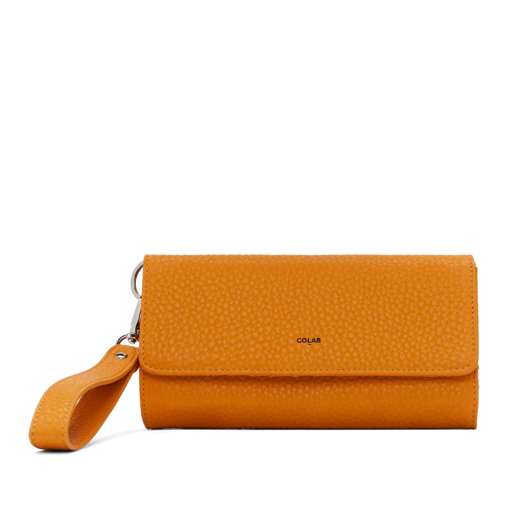 The Pebble Tri-Fold Wristlet