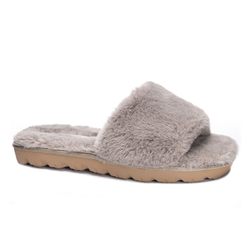 The Taupe Rally Slipper