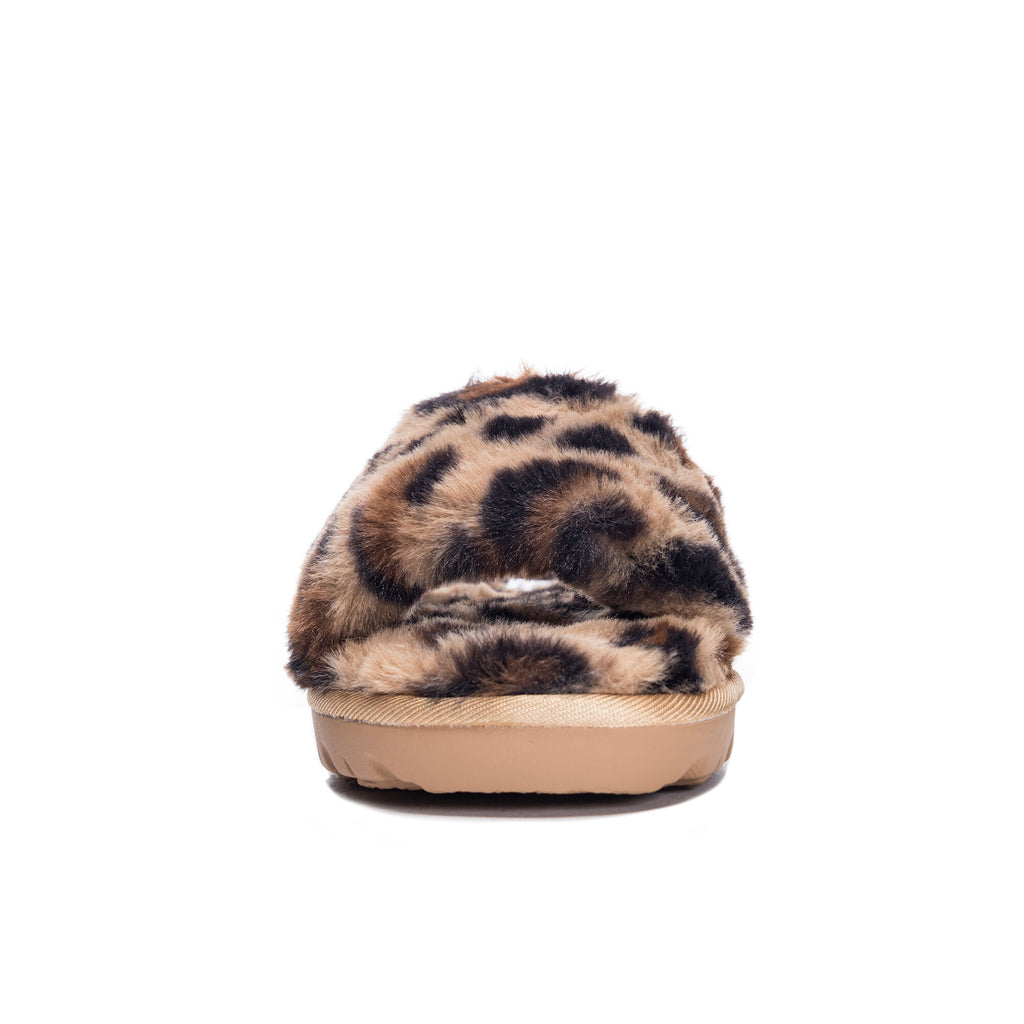 The Leopard Rally Slipper