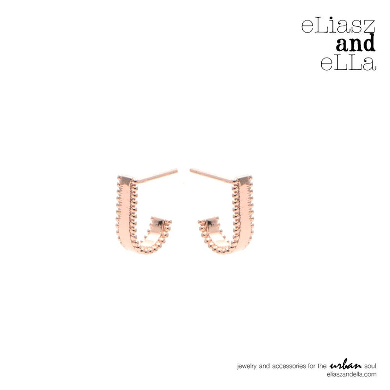 "The Rose Gold ""Blushing"" Earrings"