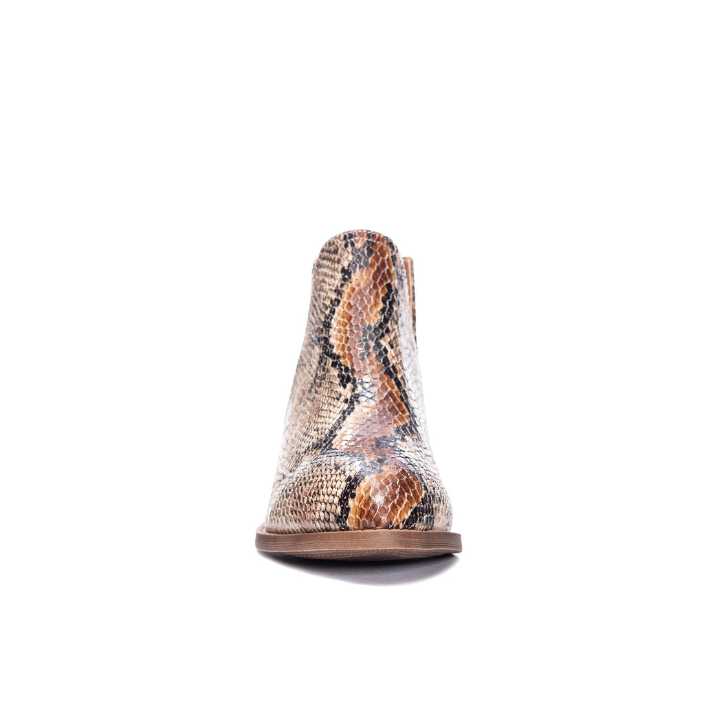 The Cherish Snake Bootie