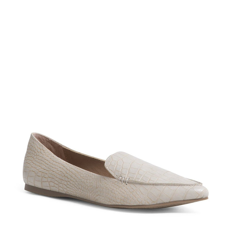 "The ""Taupe"" Feather Loafer"