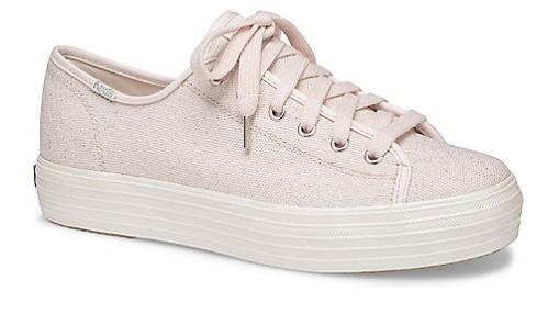 The Triple Kick Pink Lurex Sneaker