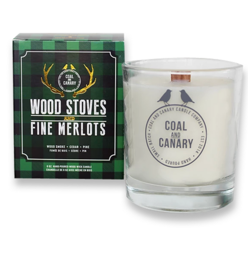 Wood Stoves & Fine Merlot Candles
