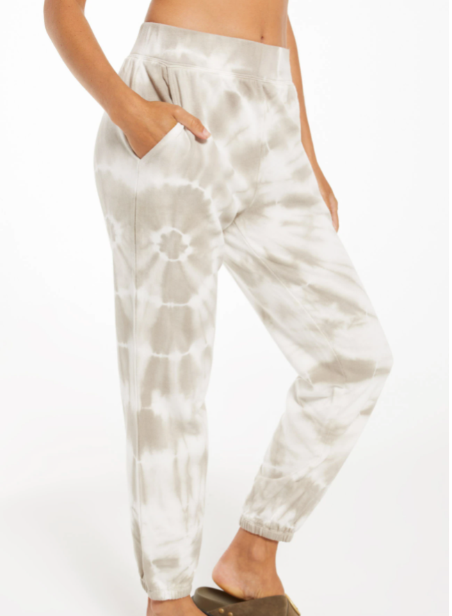The Emery Spiral Tie-Dye Joggers