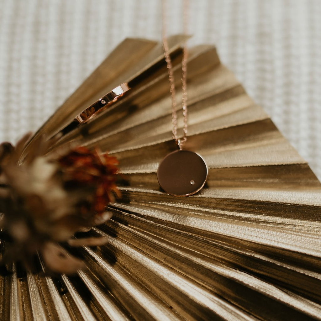D'Amour Rose Gold Necklace