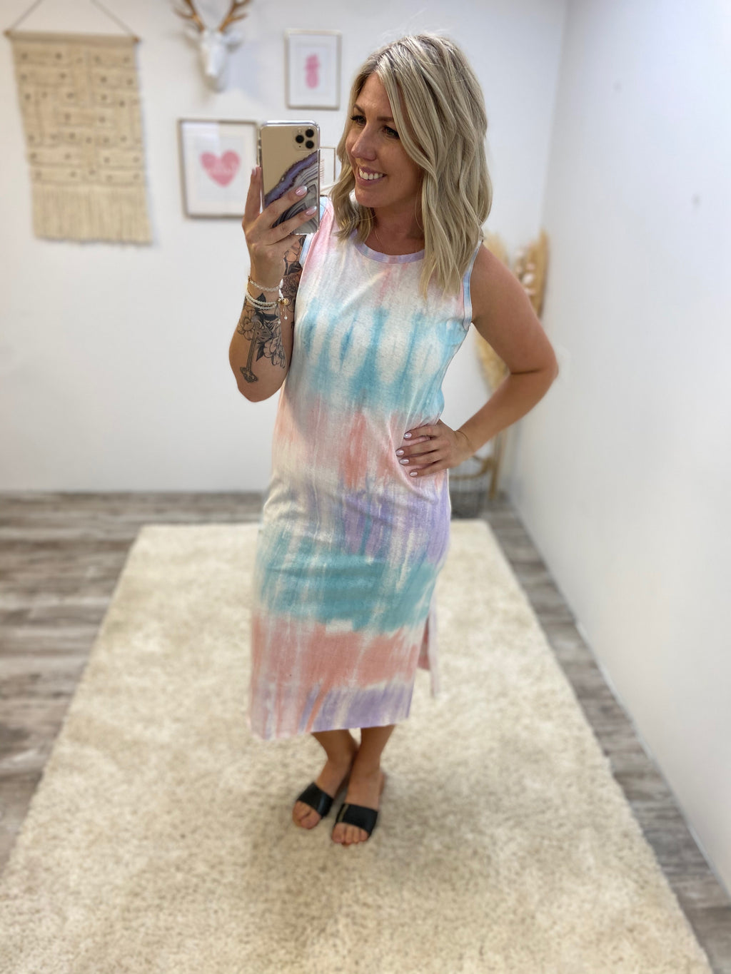 Elle's Tie Dye Dress