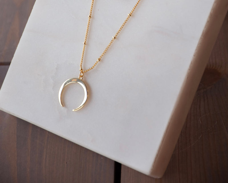 The Elle's Exclusive Moon Necklace