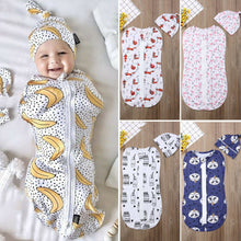 Bay Zip Up Sleep Sack & Hat Set