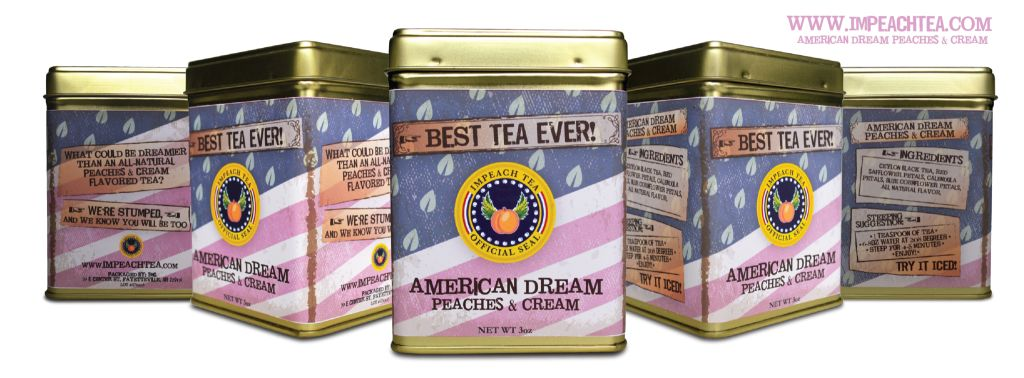 American Dream : Peaches & Cream Tea