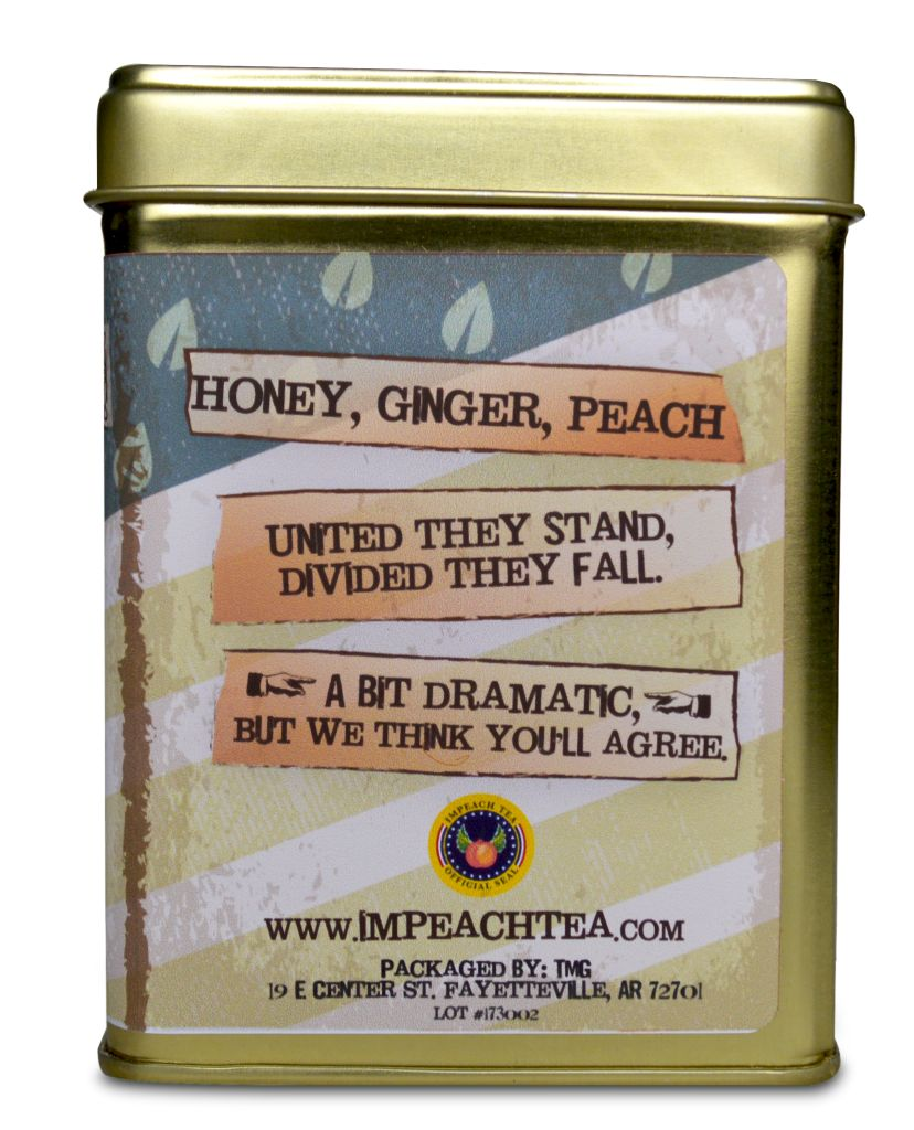 Honey Ginger Southern Peach Tea