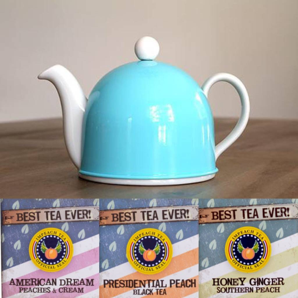 Impeach Tea X Teaazi Bundle! Teapot