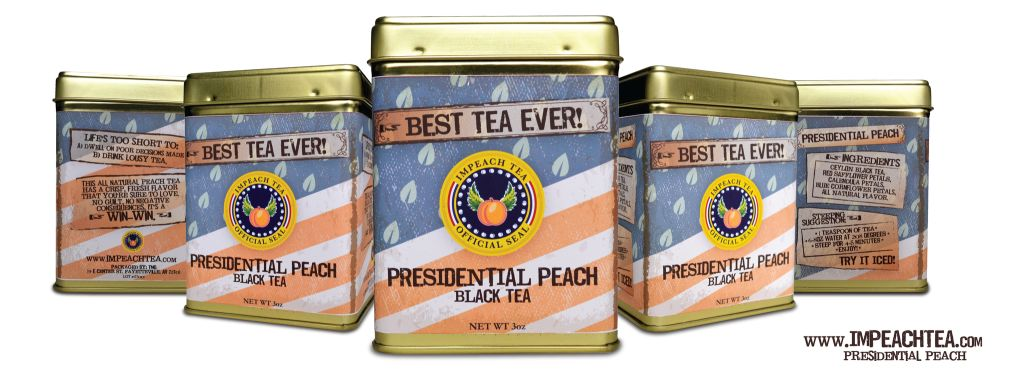 Presidential Peach Tea