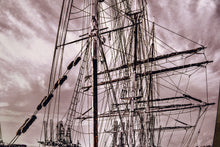 Tall Masted Ship Picture Elissa from Galveston Texas Wall Hanging Art Photograph Boat Print on Canvas