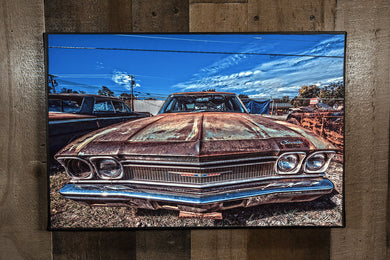1968 Chevrolet Chevelle Art Photograph Print on Canvas