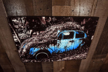 Classic Car Picture Volkswagen VW Beetle Wall Hanging Art Photograph Print on Canvas