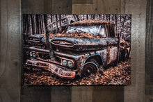 Chevrolet 1961 Chevy Apache Art Photograph Print on Canvas
