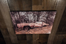 Old Car Picture Chevrolet 1971 Chevy Monte Carlo Art Photograph Print on Canvas Classic Car Photo