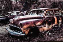 Classic Car Picture 1954 Desoto Wall Hanging Art Photograph Print on Canvas Old Car Photo