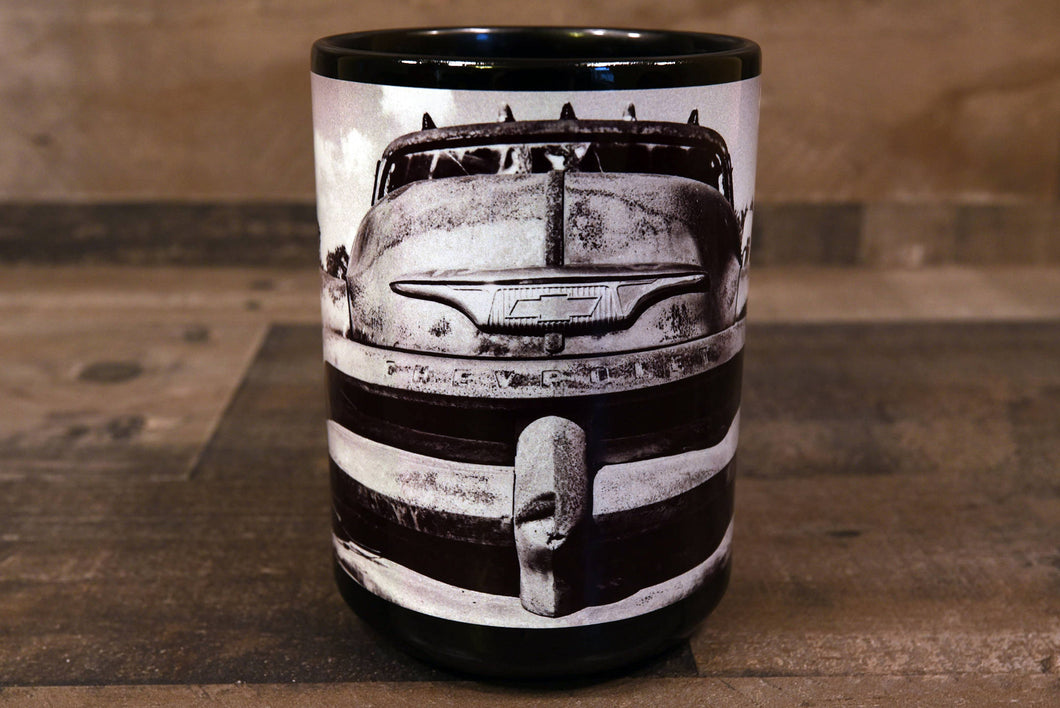 Chevrolet 1954 Chevy Pickup Truck Coffee Mug 15oz Cozy Old Antique Truck