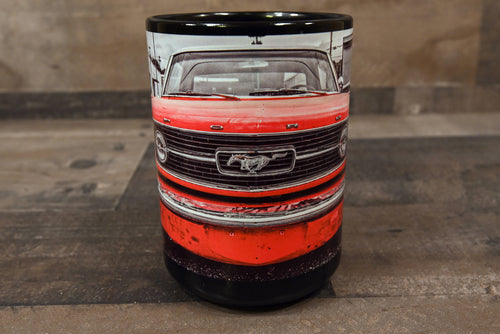 Ford Mustang Coffee Mug Red 15oz Cozy Old Classic Car