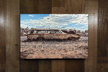 Old Car Art 1968 Ford Country Squire Station Wagon Photograph Print Picture on Canvas