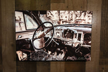 Classic Car Picture 1948 Nash Ambassador Interior Art Photograph Print on Canvas