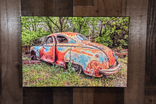 Old Car Picture 1947 Dodge Coupe Wall Hanging Art Photograph Print on Canvas