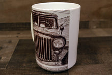 Willy's JEEP Classic Car Coffee Mug 15oz Cozy Old Antique Car
