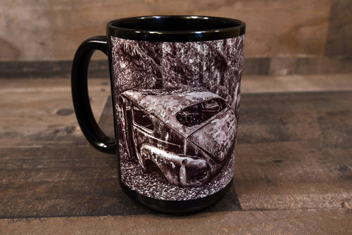 Volvo Coffee Mug 15oz Cozy Old Antique Volvo Classic Cars