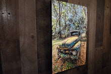 Ford Picture 1951 Pickup Truck Art Photograph Print on Canvas Classic Car Photo