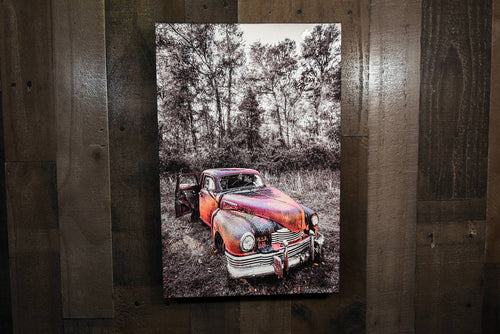 Classic Car Picture 1948 Nash Ambassador Wall Hanging Art Photograph Print on Canvas