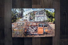 Post Office Delivery Van Mail Carrier Art Photograph Print on Canvas