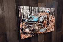 Old Car Picture 1954 Dodge Classic Car Wall Hanging Art Photograph Print on Canvas