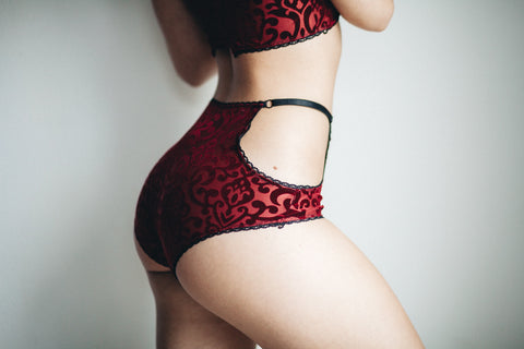 Red Velvet Bottoms