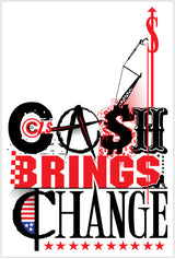 "Tim Mulvey ""Clash Brings Change"" - Canvas"