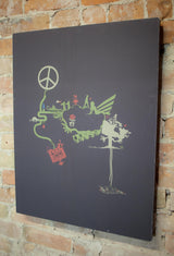 "Tim Mulvey ""Solutions Pollusion"" - Canvas"
